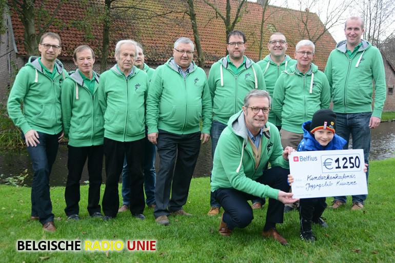 Joggingclub Kuurne steunt KinderKankerFonds