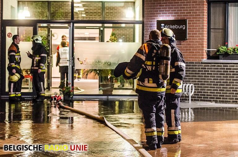 Brand in psychiatrisch verzorgingstehuis in Rumbeke