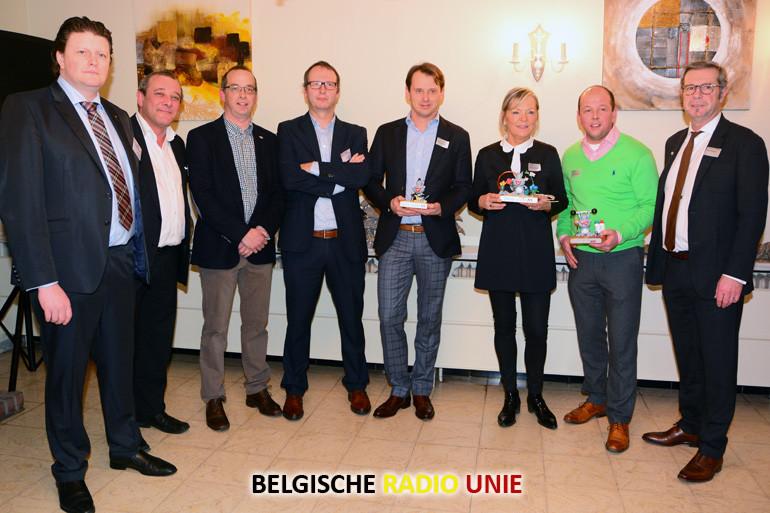 Awards 2015 uitgereikt in Kuurne tijdens de jaarlijkse Nieuwjaarsreceptie
