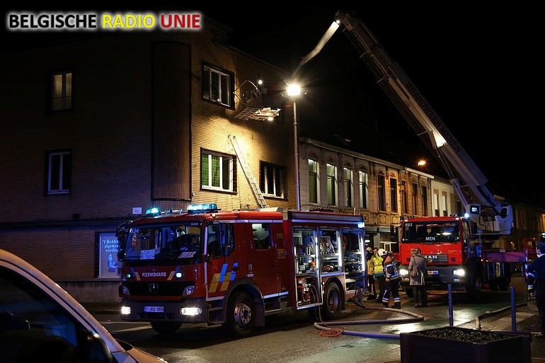 Dodelijke woningbrand in Menen