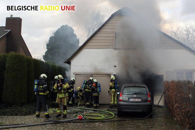 Garagebrand in Zwevegem richt heel wat schade aan