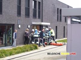Twee personen geëvacueerd na kortsluiting in service flats