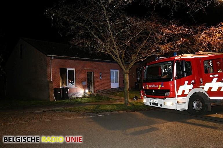 Twee doden en zwaargewonde bij woningbrand in Ieper