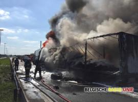 Oekraïense vrachtwagenchauffeur overleeft ongeval op E17 niet