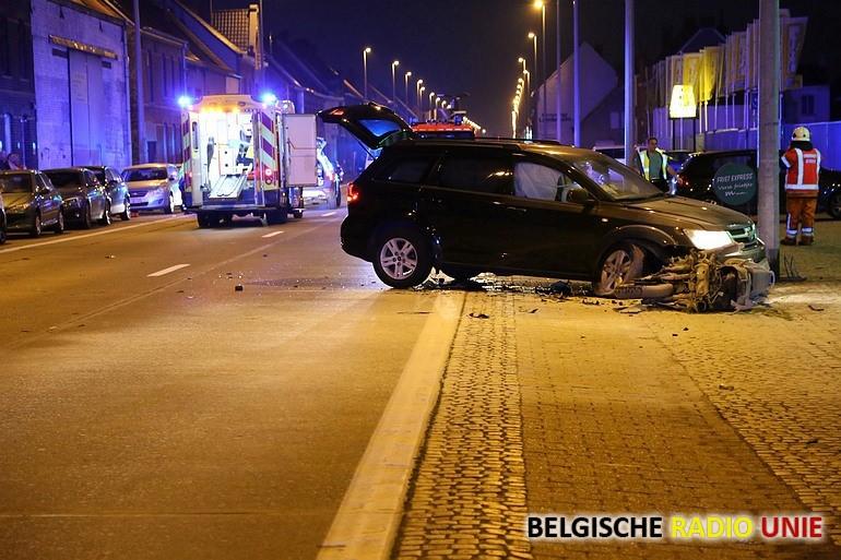 Motorrijder zwaargewond bij ongeval in Beveren-Leie