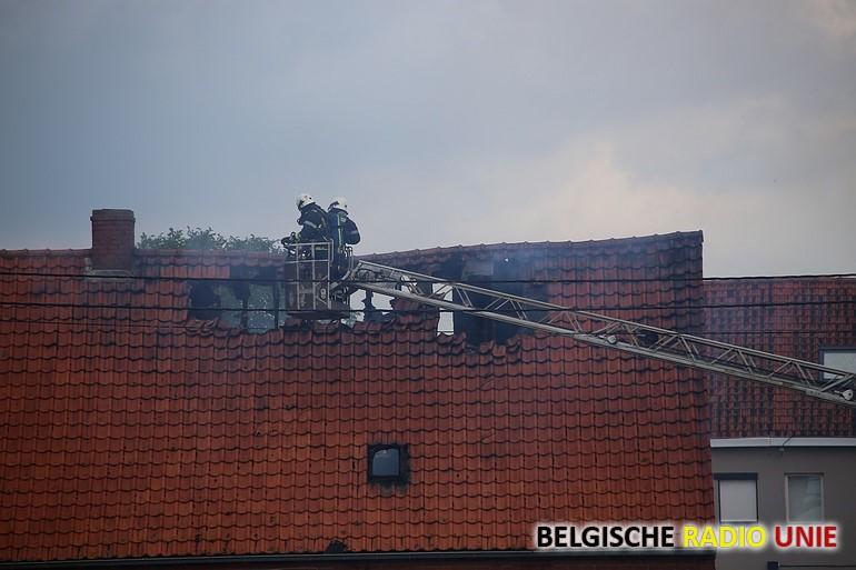 Woning onbewoonbaar na brand in Wielsbeke