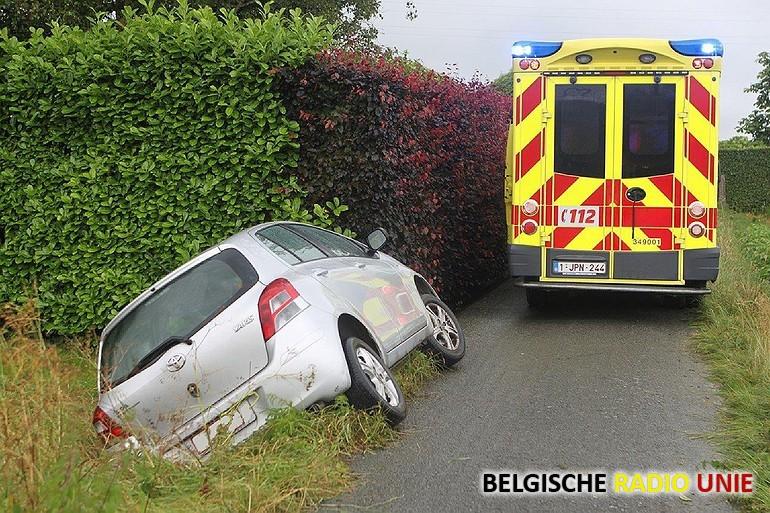Bestuurster gewond bij ongeval in Zwevegem