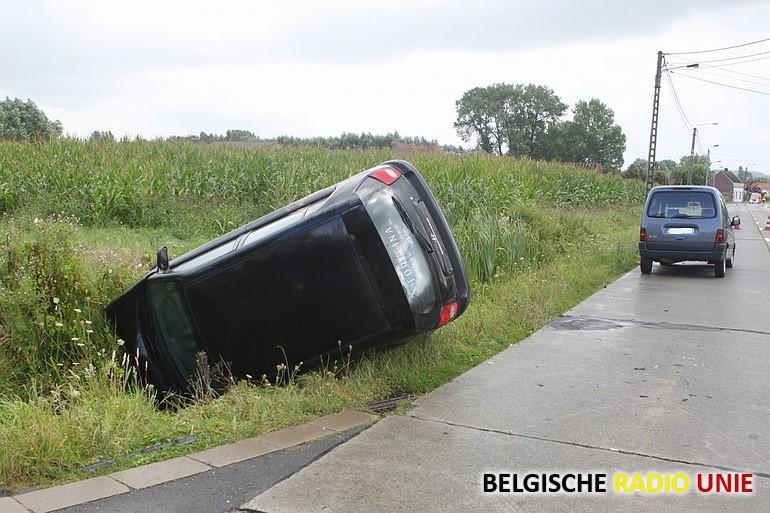 Vier gewonden bij verkeersongeval in Anzegem