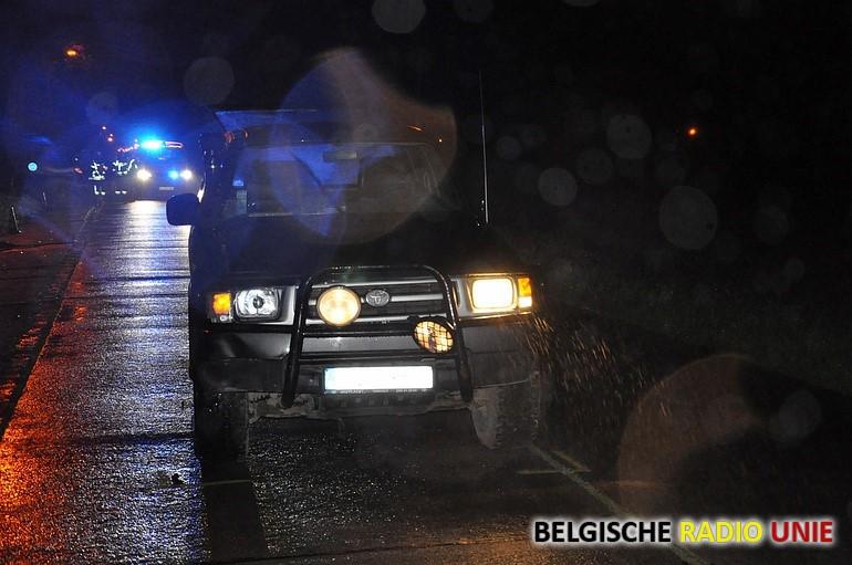 Voetganger overleden bij ongeval in Kortemark