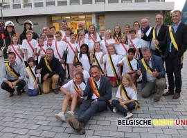 Elle Engels is de nieuwe kinderburgemeester van Kuurne