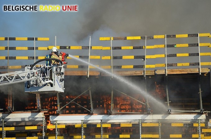 Brandschade A11 geen impact op openstelling autosnelweg