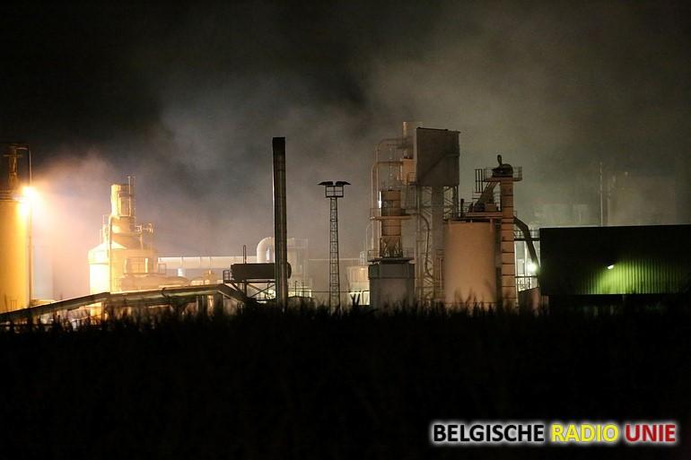 Brand in silo in Wielsbeke