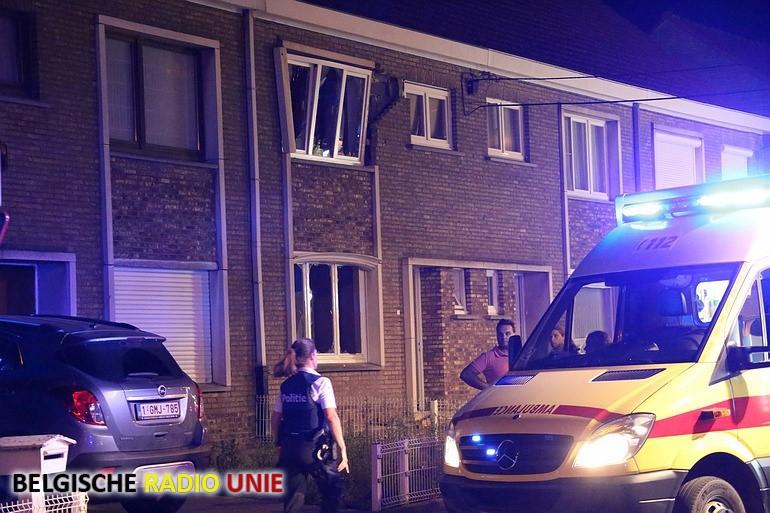Gasexplosie in woning, 2 kinderen gewond