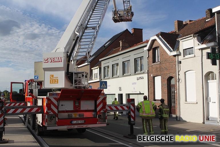 Keukenbrand in Kortrijks restaurant