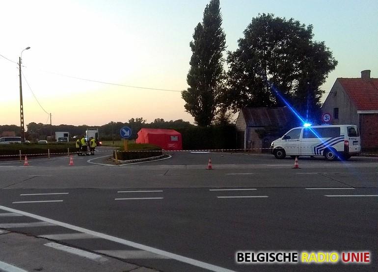 Fietser overleden bij ogeval met vrachtwagen