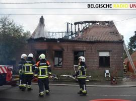 Brand eist twee levens in Langemark