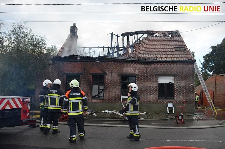Zware brand eist twee levens in Langemark