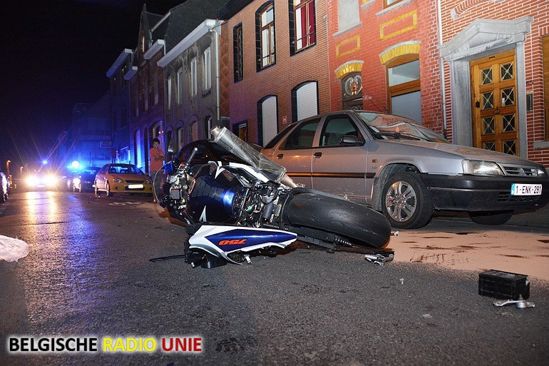 Motorrijder zwaargewond in Roeselare
