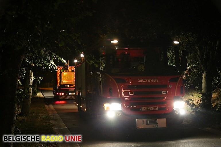 Straatverlichting vat vuur in Sint-Eloois-Vijve