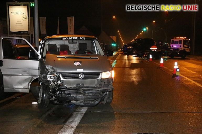 Verkeersongeval in Beveren-Leie
