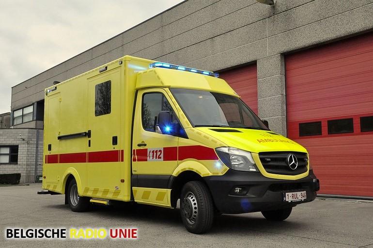 nieuwe ambulance Diksmuide