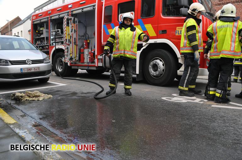 Kookpot vat vuur in Wevelgem