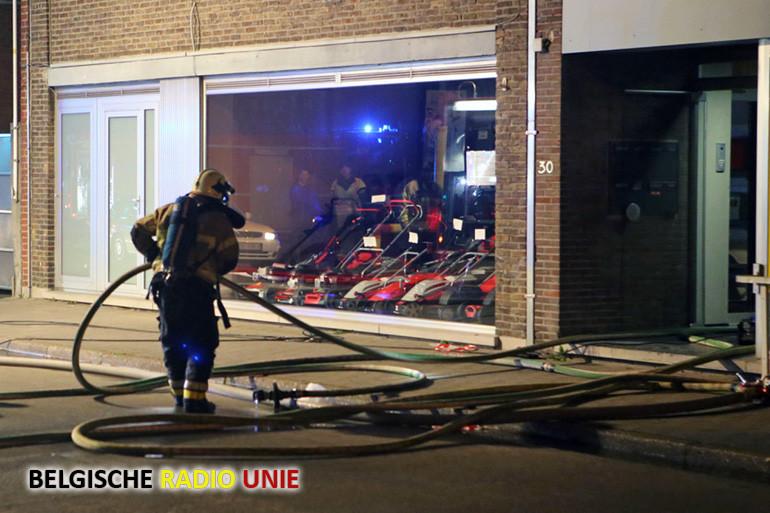 Appartement onbewoonbaar na brand in Menen