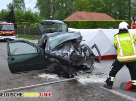 Dodelijk ongeval in Geluwe