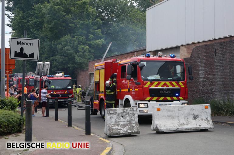 Opnieuw brandstichting in voormalige kartonfabriek Decofrance