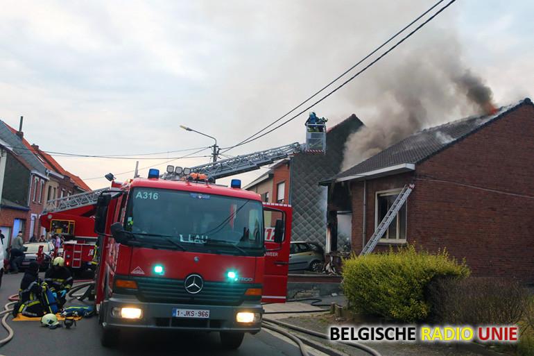 Jongeman van 19 overleden bij zware woningbrand