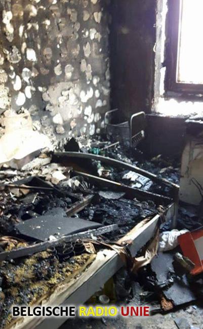 Nazorg voor bewoners appartementsbrand De Sterre in Ieper