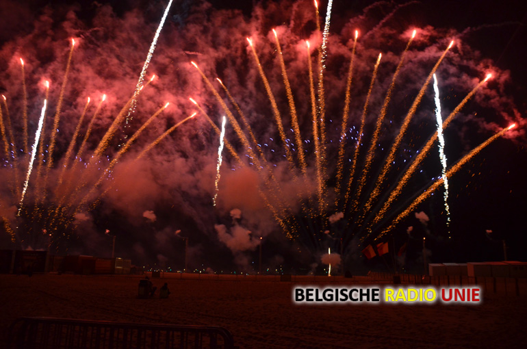 38ste Editie Internationaal Vuurwerkfestival Knokke Gewonnen Door