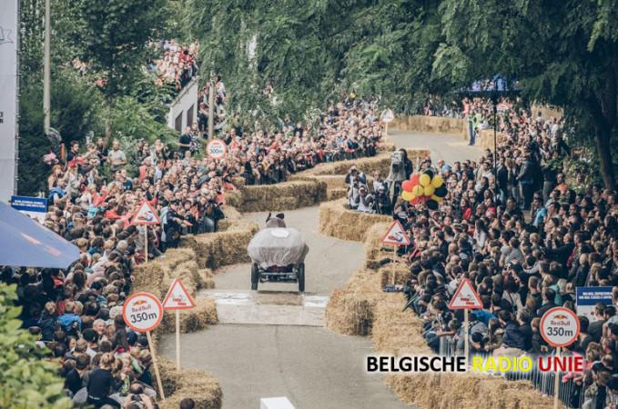 West-Vlaamse overwinning in steilste Red Bull Zeepkistenrace ooit