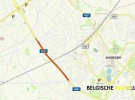 Vanaf 16 oktober aanleg geluidsarm asfalt op N382 in Waregem