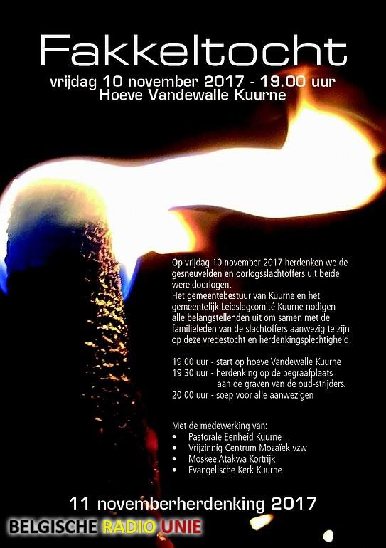 Fakkeltocht 11 novemberherdenking
