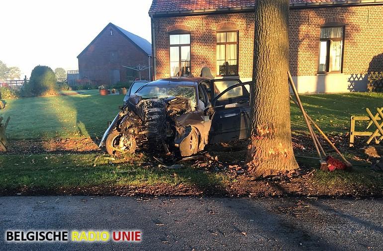 Jonge vrouw overleden bij ongeval