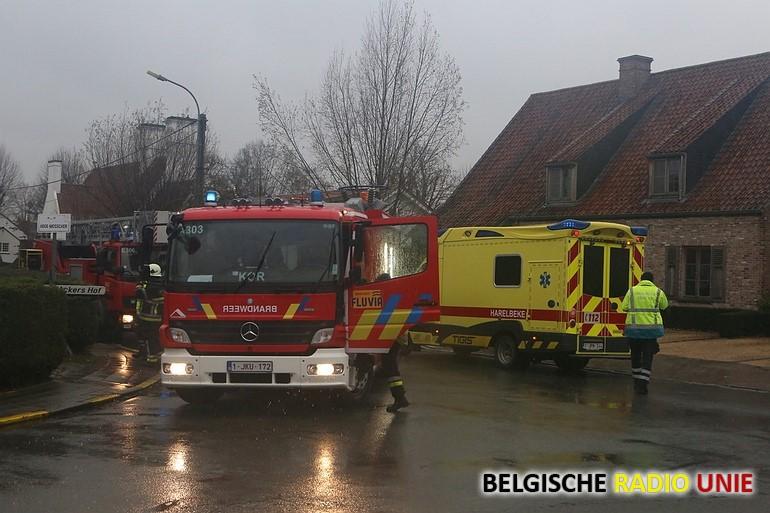 Bewoner overleden bij woningbrand
