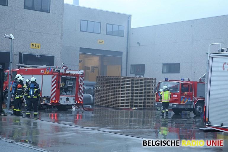 Brand bij IVC in Avelgem, werknemers afgevoerd