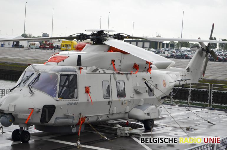 De nieuwe NFH-90's helikopters in Koksijde kampen met technische problemen