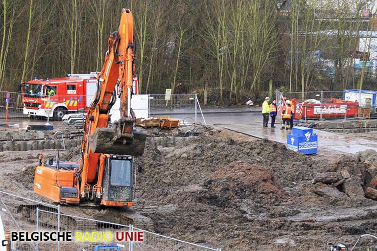 Fosforbom opgegraven tijdens werkzaamheden in Kortrijk