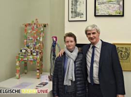 Kunstenaars van Groep Ubuntu x 8k stellen werken tentoon in Kortrijk Xpo