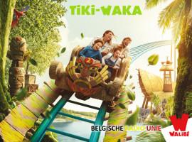 Tiki-Waka is de nieuwste attractie binnen het pretpark Walibi
