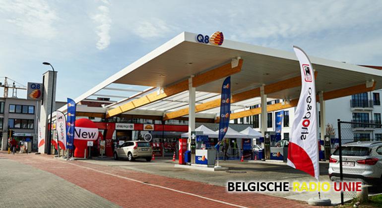 Nieuw Q8-tankstation in Knokke haalt inspiratie uit strandcabine