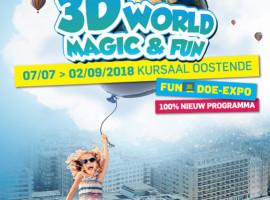 Bezoek 3D World te Oostende op kosten van BRU