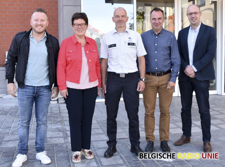Politie zone VLAS verwelkomt nieuwe hoofdinspecteur