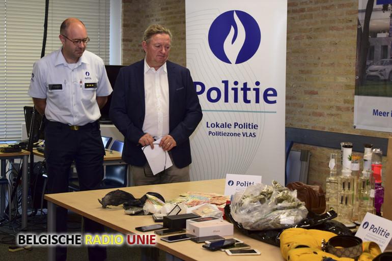 Politiezone Vlas brengt drugsmilieu in Zuid-West-Vlaanderen zware slag toe