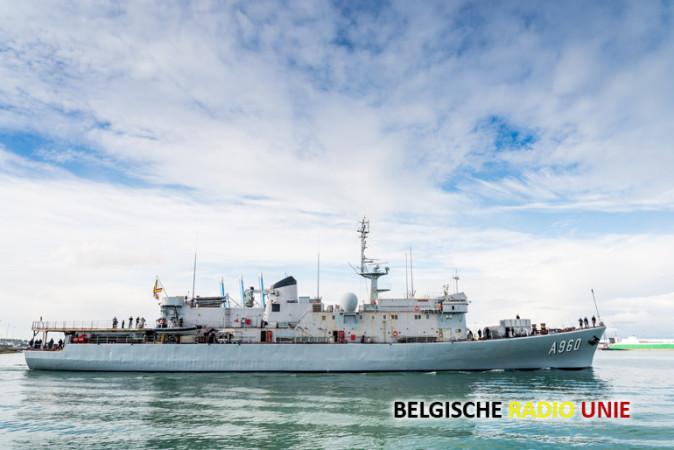 BNS Godetia wordt het vlaggeschip van één van de vier NAVO vloten
