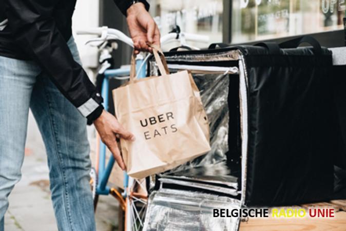 Uber Eats komt naar Kortijk