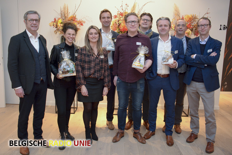 Vijf bedrijven bekroont met award tijdens nieuwjaarsreceptie gemeentelijke handelscommissie