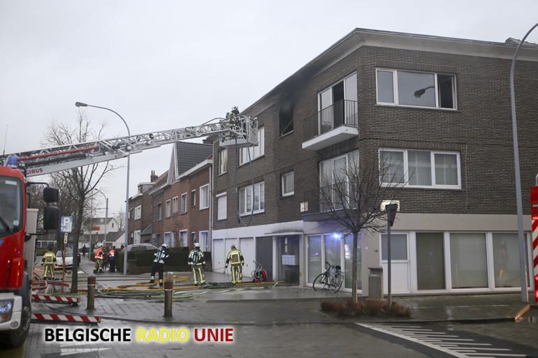 Flat uitgebrand in Kortrijk, bewoner ongedeerd